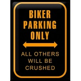 bikersparkingonly
